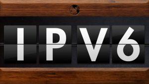 IPv6 flip clock